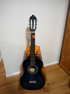 1/2 Size Classical Guitar - Blue Burst- VALENCIA