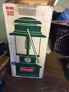 Coleman Lantern brand new never used but glass is broken