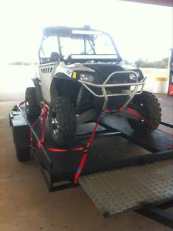 Medium/heavy duty low slung car trailer with winch Scarborough Stirling Area Preview