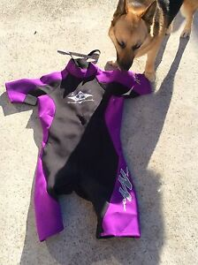 BRAND NEW SHORT SLEEVE LADIES SIZE 12 WETSUIT .... $25 .... ONO Howrah Clarence Area Preview