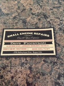 SNOWBLOWER  /   CHAIN SAW  REPAIRS OVER 40 YEARS EXPERIENCE