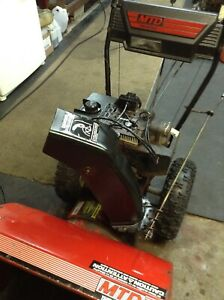 "$300 Swap / Trade  SNOWBLOWER 8 hp/ 26"" cut electric start"