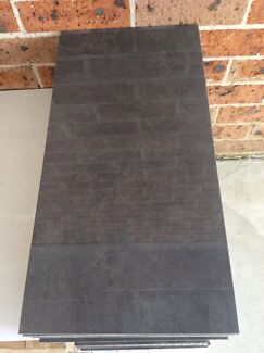 Charcoal Grey Polished Porcelain Tiles 300mm x 600mm