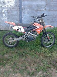 250 cc dirtbike