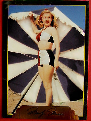 """""""Sports Time Inc."""" MARILYN MONROE Card # 157 individual card, issued in 1995"""