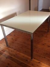 Ikea TORSBY white glass dining table Waverley Eastern Suburbs Preview