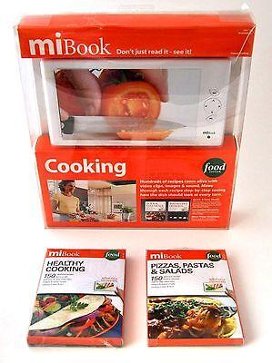NEW MiBook Player & 4 Cook Book Digital Recipe Bundle MKC10