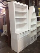 White Bookshelf with Storage Cupboard - Last one (Brand New) Exeter Port Adelaide Area Preview