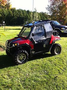"2009 polaris rzr 800 50"" cabine hivernal chauffer !"