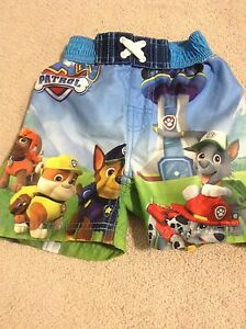 Paw patrol swim short 2t