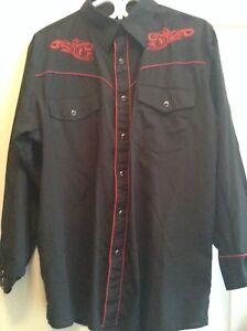 Cowboy shirt sz medium men's OR large women's