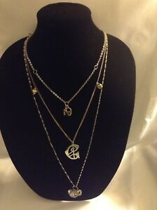 GUESS  multi chain necklace