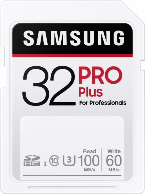 Samsung - PRO Plus SDXC Full size SD Card 32GB