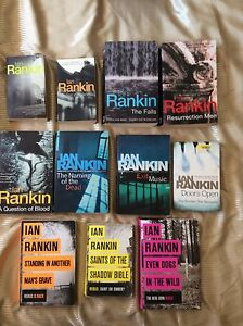 Ian Rankin -  collection of 11 John Rebus detective novels.