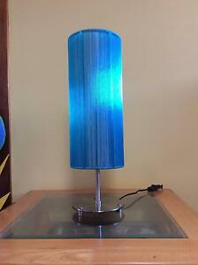 Tall Blue table lamp North Strathfield Canada Bay Area Preview
