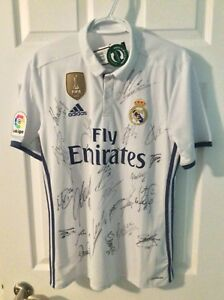 Authentic 2016 World Cup Real Madrid Jersey