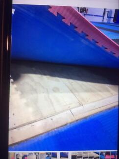 Interlock Gym Flooring With Sprung Floor