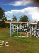 STEEL SHED FRAMES  4750 X 6470 & ROOF BEAMS $2700 --NEW Logan Reserve Logan Area Preview