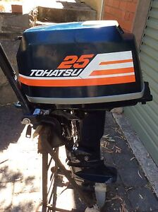 Outboard Motor TOHATSU 25HP Belair Mitcham Area Preview