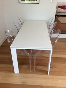 Original Kartell Louis Ghost Chairs by Philippe Starck Stanmore Marrickville Area Preview