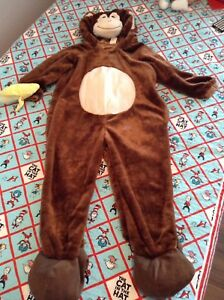 Toddler kids monkey costume great shape $5 size 2-4 yrs