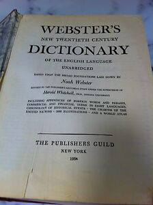 1950s Webster's unabridged dictionary Cambridge Kitchener Area image 3