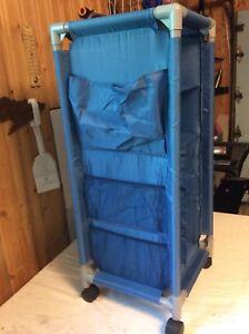 Storage organizer cart 30 x 30 x 80 CM $10