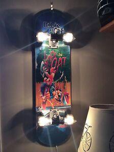Skateboard Hanging Light