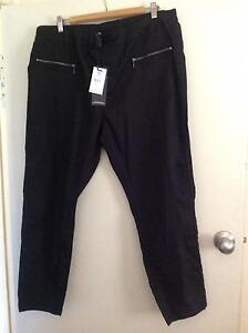 TS Riley 7/8 Jean Black Pants Size 18 Shepparton Shepparton City Preview