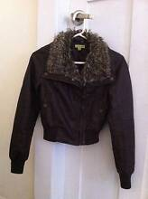 Faux Leather Fur Jacket Size Small – Excellent Condition Kingsford Eastern Suburbs Preview