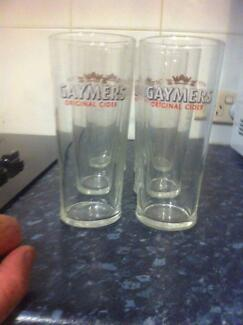 6 x Gaymers Cider Glasses 500ml Durack Brisbane South West Preview