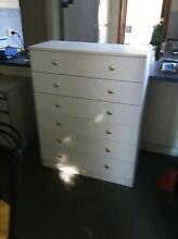 6 Drawer cupboard Greenwith Tea Tree Gully Area Preview