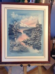 Oil Painting (Winter)