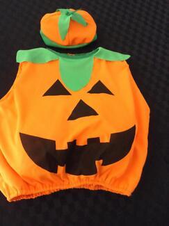 Halloween baby pumpkin costume Secret Harbour Rockingham Area Preview