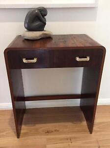 DECO VINTAGE SMALL TABLE/ DESK/HALLTABLE W/ DRAWER Seaforth Manly Area Preview