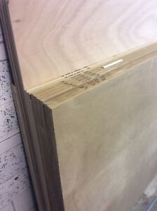 Wood sheet goods as listed