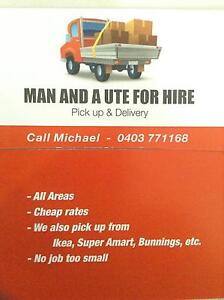 Man and a  ute for hire Hillsdale Botany Bay Area Preview