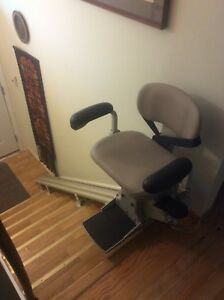 Two stair lifts suitable for bilevel house