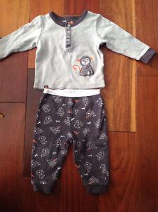 3 pyjamas 9 mois