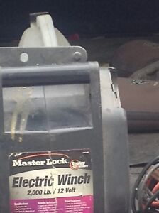 12 Volt Electric wench