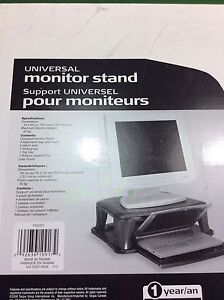 Universal Computer Monitor Stand orTV Stand  (x2)