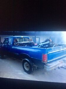 Parting out 2001 6 speed 4x4 and older dodge diesel trucks