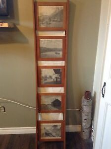 Picture frame/ magazine  ladder $25.00