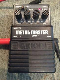 Wanted: Arion Metal Master SMM-1 Distortion pedal.