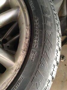 205/55/16 Mercedes Benz Winter Rims and Tires