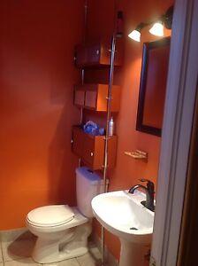 Armoire de salle de bain vintage des années 80