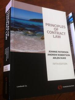 Principles of Contract Law 5th Edition