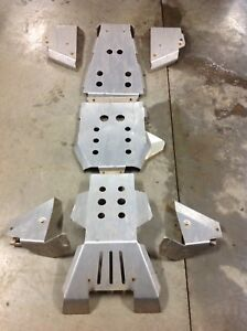 Yamaha grizzly armour plating