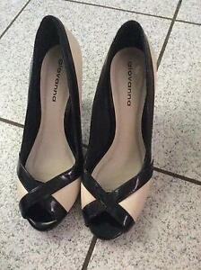 Giovanni Black and cream high heels Redlynch Cairns City Preview