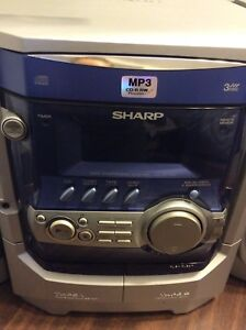 Stereo system with 2 speakers